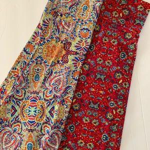 Women's Lularoe Maxi Skirt Bundle Large XLarge